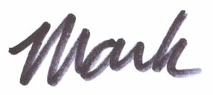 Mark's signature